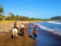 Balade à cheval, Playa Buena Vista