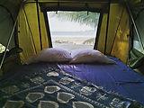 Tent of a campervan