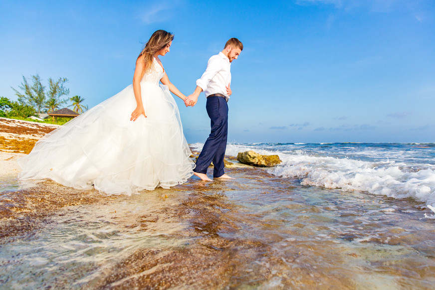 Trash The Dress, Cayman Islands