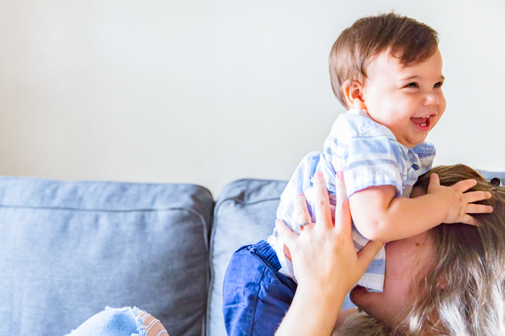 In-home session | Lifestyle Family Photo