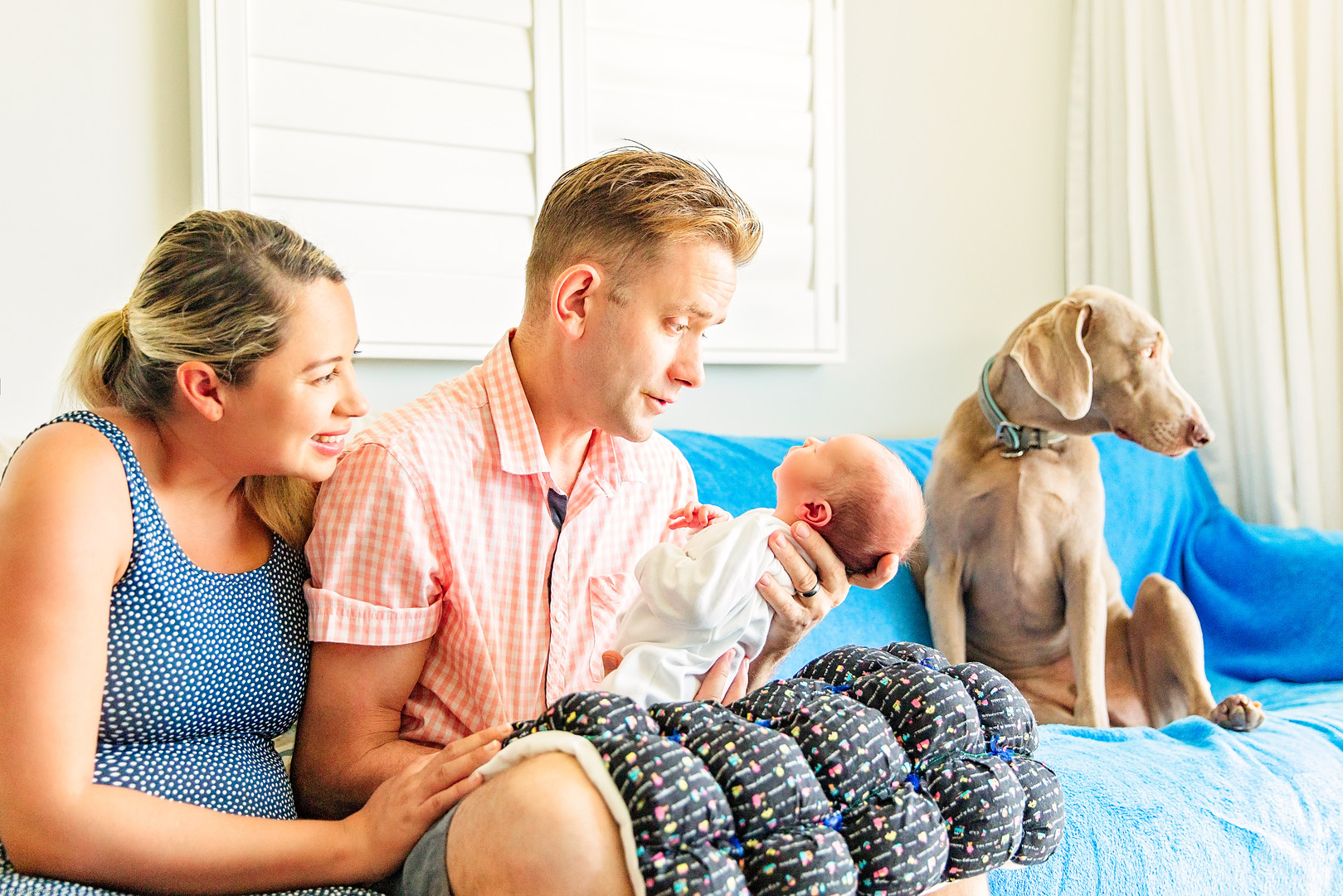 In-home Lifestyle family photography | N