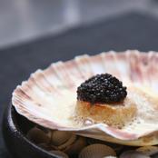 Kammusling med Rossini Caviar