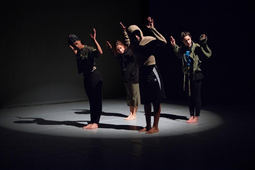 Lewisham College Dance Students