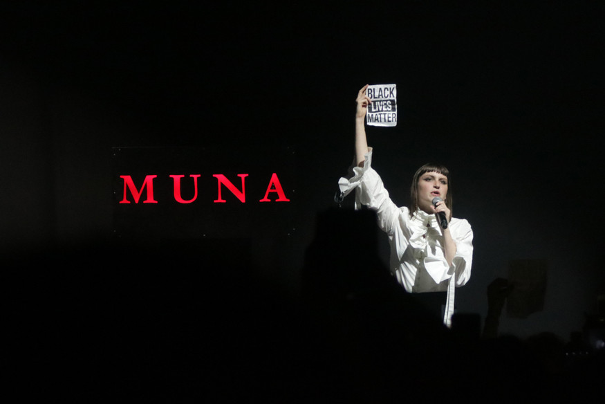 All-female band Muna