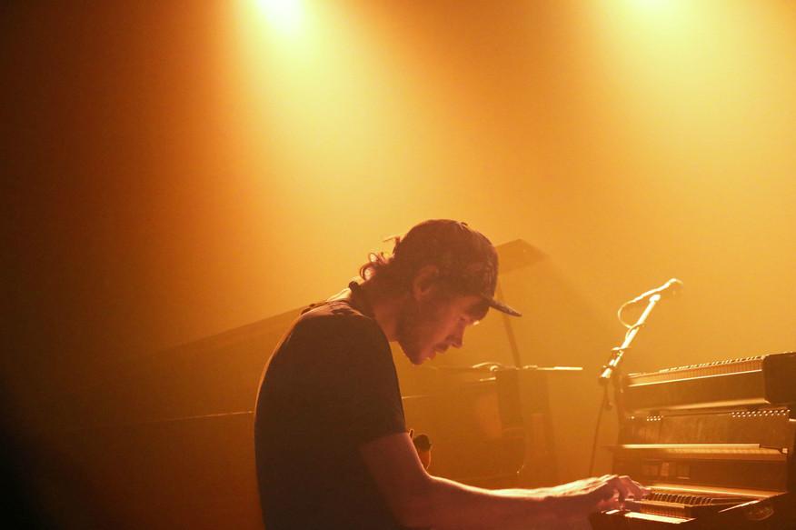 Pianist Dominic J Marshall
