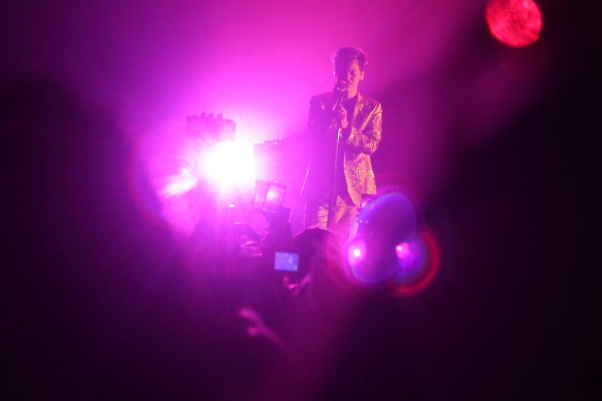 Harry Styles at the Hammersmith Apollo