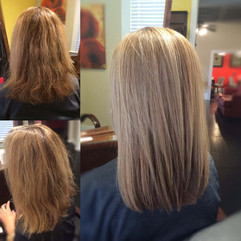 Before & After Keratin Blowot