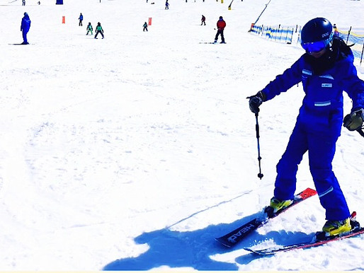 【Ski初學者兩種教法: 轉腿?外板加壓?】