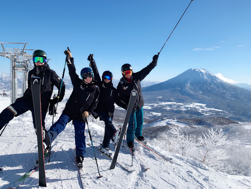 【追雪團隊開始白天及夜滑的內部訓練】