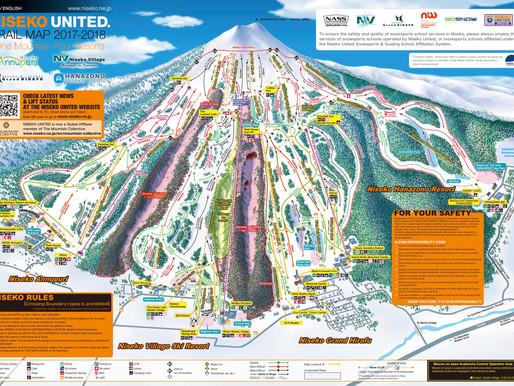【2018-19二世古滑雪場開放日及地圖】