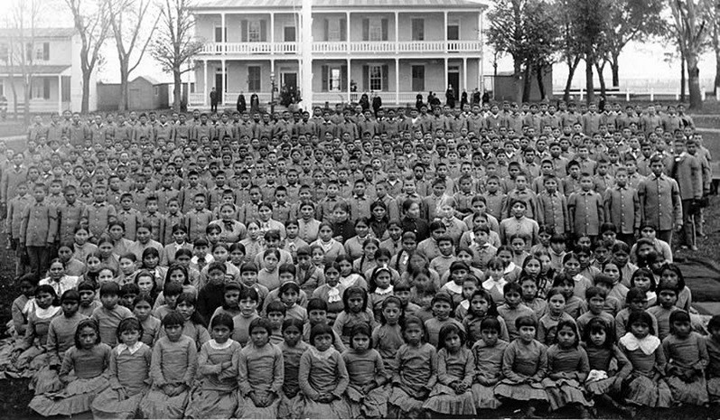 Carlisle Indian School 1900
