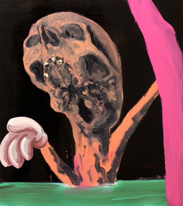 Seven holes of bone