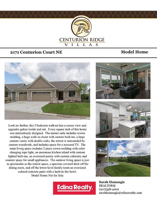 2171 Centurion Court NE Feature Sheet -