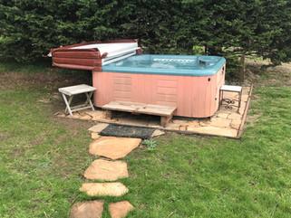 Point Reyes House Hot Tub