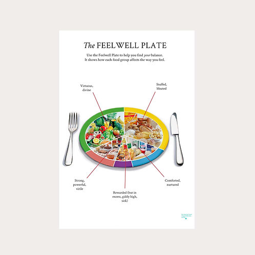 "Emma Sulkowicz ""The Feel Well Plate"" Poster"