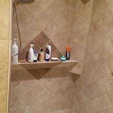 Walk in Shower (Master Bath)