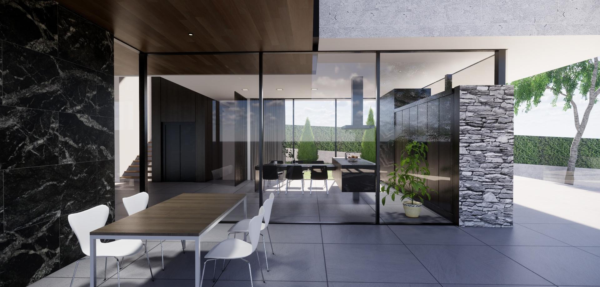 Proyecto villa unifamiliar