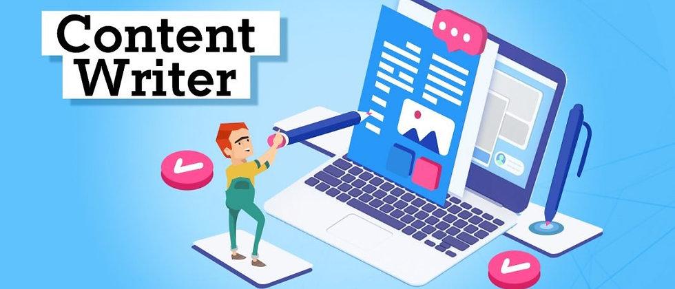 Content Writing:Internship+Training+Career Counselling+Resume & LinkedIn Profile