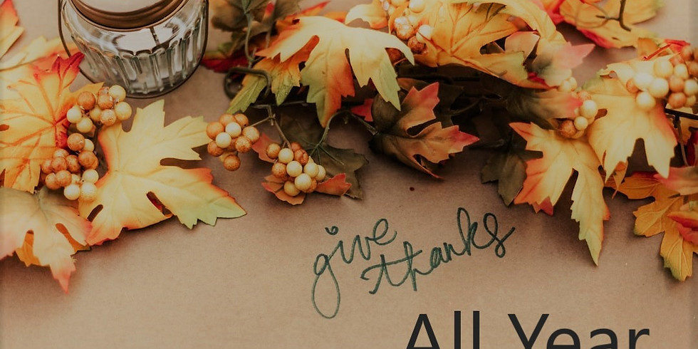 Women's Bible Study - Give Thanks All Year