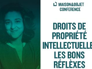 """Prochaine Conférence de Maître Ingrid ZAFRANI """"DROITS DE P.I. LES BONS REFLEXES"""""""