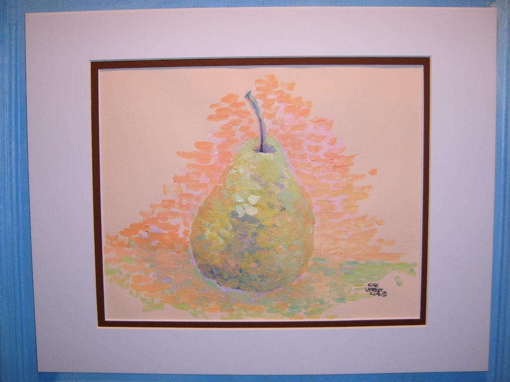 Lone Pear's Inner Beauty