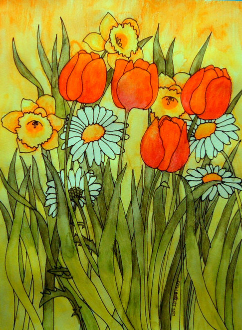 Orchestration of Yellow in a Symphony of Orange