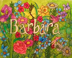 Barbara (Name Design)