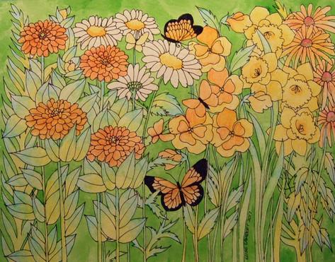 Pastel Flower Springtime