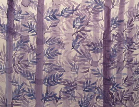 Bamboo Garden Shadows