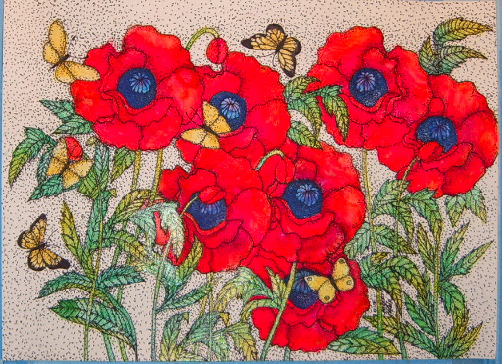 The Poppy and Butterfly Dance