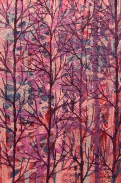 Pensive Purple Trees