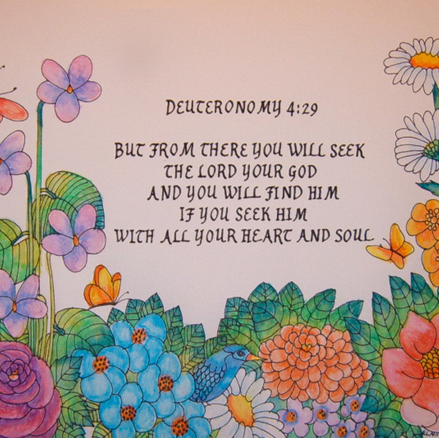 Deuteronomy 4:29