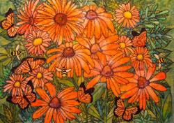 Dance of Autumn's Blossoms