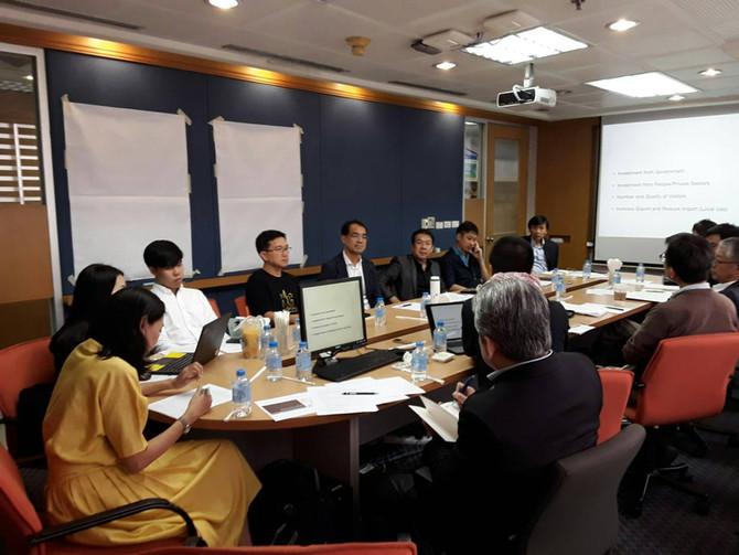 การประชุม workshop 14 CD ครั้งที่ 1