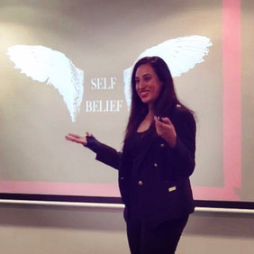 Presentation: Self-Defining Moments and the Power of Self-Belief