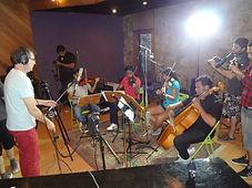 Aula de gravação de quarteto, ARS 01