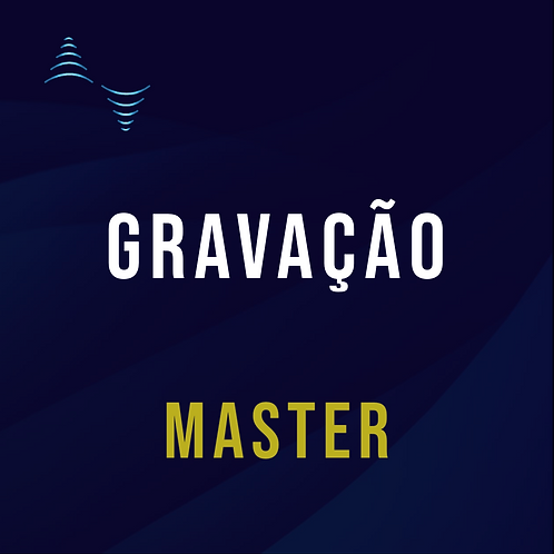 Gravação Master