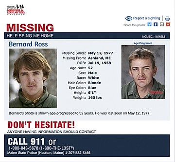 5 unsolved missing persons cases -- New England