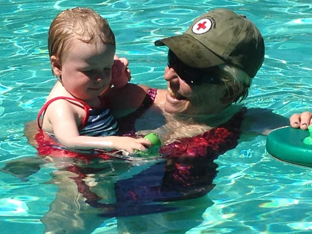 Baby and Me Swim Class