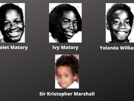 Vanished after a house fire: The Matory sisters, Yolanda Williams and Sir Kristopher Marshall