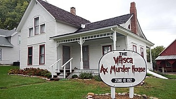The Villisca axe murders and hauntings