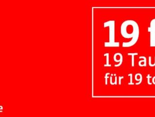 19 tausend Euro für 19 tolle Projekte  von der Sparkasse Südholstein!