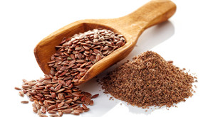 Instead of egg - Flax Seeds - to bind