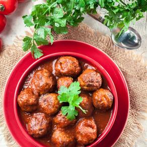 Spanish Pork Meatballs with Paprika