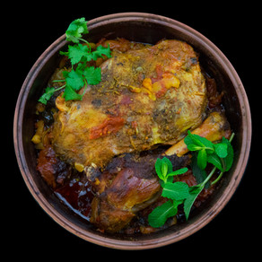 Roast Lamb, Moroccan Style