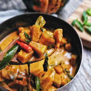 Thai Pumpkin Curry (Ve)