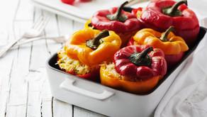 Chicken & Stuffed Peppers Menu