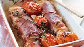 Baked Fish & Lentil Potatoes Menu