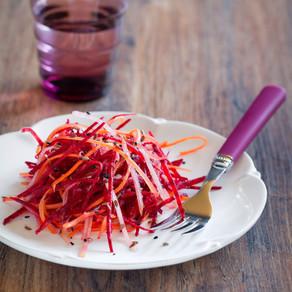 Beetroot Coleslaw Summer Lunch