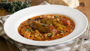Spiced Sausage and Bean Casserole Menu